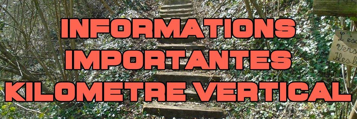 Permalien vers:informations importantes kilomètre vertical