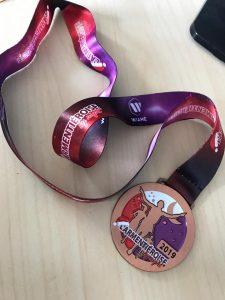 médaille de l'Armentieroise by night 14 décembre 2019